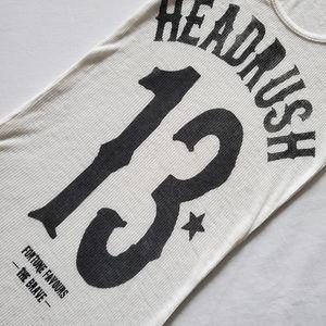 HEADRUSH Ribbed Top